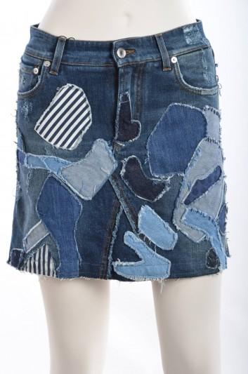 Dolce & Gabbana Women Denim Mini Skirt - F4ACMD G8Q58