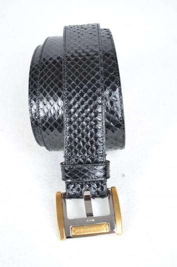 Dolce & Gabbana Cinturón Logo Hombre - BE0505 A2E67