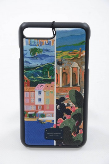 Dolce & Gabbana Funda iPhone 7 - 8 Plus Hombre - BP2236 AH525