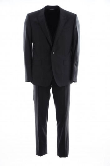 Dolce & Gabbana Men 1 Button Suit - GK0VMT FR3DN