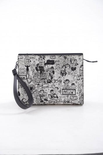 Dolce & Gabbana Bolso Clutch de Piel Hombre - BM1657 AI558