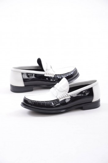 Dolce & Gabbana Men Leather Loafers - A50001 BL204