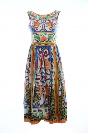 Dolce & Gabbana Women Sleevless Long Dress - F67Q7T GDH57