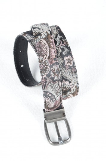 Dolce & Gabbana Men Brocade Belt - BC3953 A6697