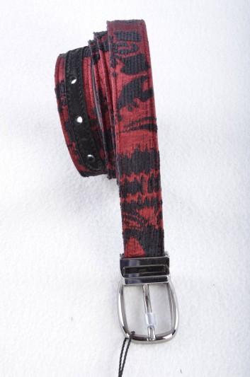 Dolce & Gabbana Cinturón Brocado Hombre - BC3953 AF759