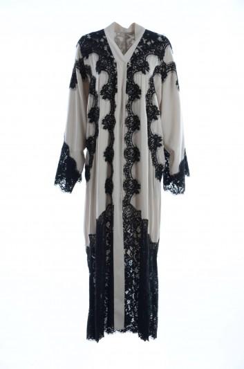 Dolce & Gabbana Women Embroidery Guipure Caftán - F6WB6T FUABF