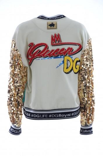 Dolce & Gabbana Women Sequins Sweatshirt - F9E04Z HH7I7