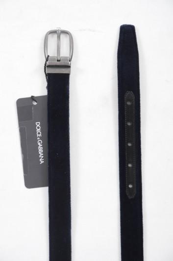 Dolce & Gabbana Cinturón de Piel Hombre - BC3953 A6808