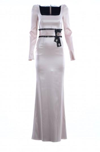 Dolce & Gabbana Women Long Alta Sartoria Dress - F64Z7Z FUACN