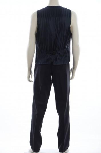 Dolce & Gabbana Men Waistcoast and Trousers Wool Set - I7056M G9O27