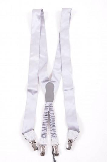 Dolce & Gabbana Men Silk Suspenders - BC4008 A2169