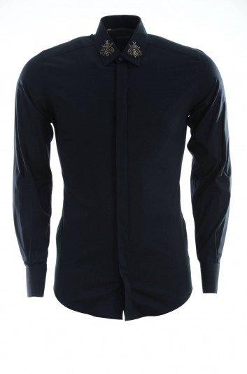 Dolce & Gabbana Men Long Sleeves Shirt - G5FS8Z FUEAJ