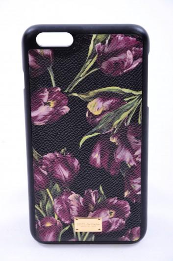 Dolce & Gabbana Funda Iphone 6/6S Plus Estampado Tulipanes Mujer - BI2126 AC685
