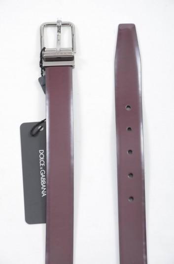 Dolce & Gabbana Cinturón Logo Hombre - BC3627 AC460