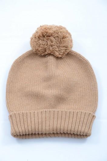 Dolce & Gabbana Women Cashmere Knitted Hat - FPH11K F64FR