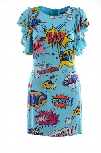 Dolce & Gabbana Vestido Estampado Mujer - F6C7CT FSRKD