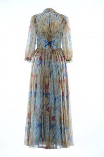 Dolce & Gabbana Women Tulips Print Midi Dress - F66R4T HS1U3