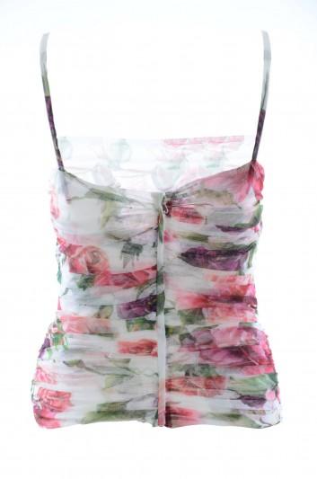 Dolce & Gabbana Top Floral Mujer - F72F5T FS5G5