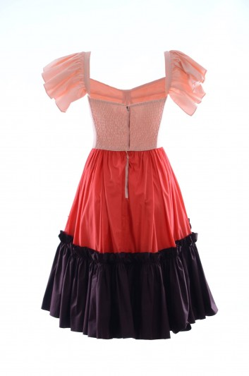 Dolce & Gabbana Vestido Corto Volantes Mujer - F6A1CT FU5L5