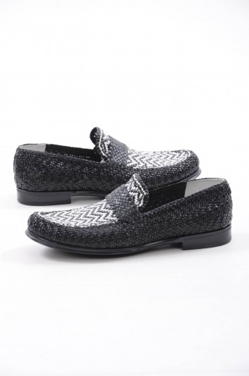 Dolce & Gabbana Men Leather Loafers - A30063 AB591