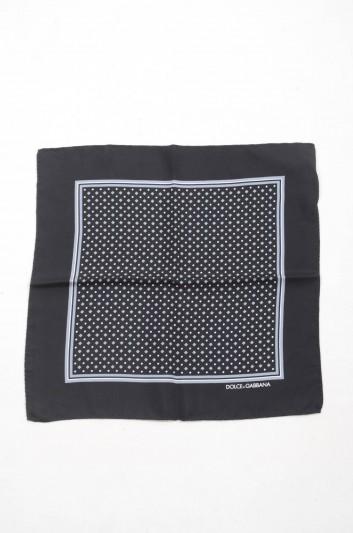 Dolce & Gabbana Men Silk Handerkerchief - GR412E G0WJZ