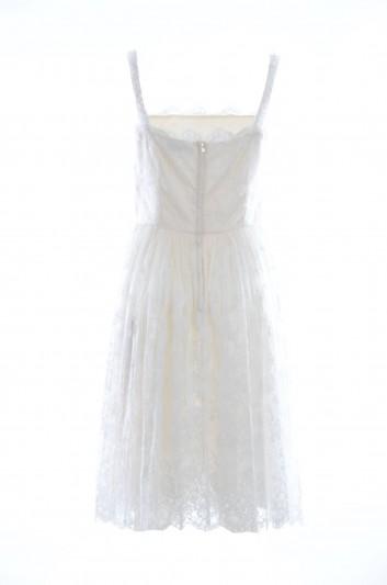 Dolce & Gabbana Vestido Corto Seda Tirantes Mujer - I676DW HLMBX