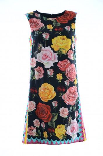 Dolce & Gabbana Vestido Corto Seda Mujer - F65E6T FSAUO