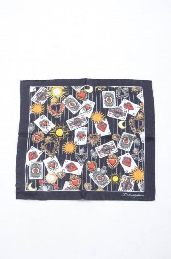 Dolce & Gabbana Men Silk Handerkerchief - GR412E G0WHZ