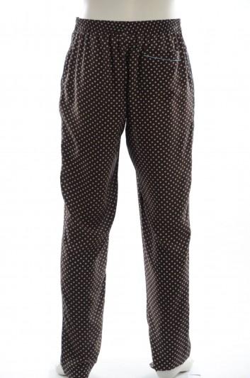 Dolce & Gabbana Men Silk Trousers - GY15HT FS1GH