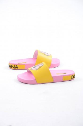 Dolce & Gabbana Women Beachwear Flip Flops - CW0109 AZ913