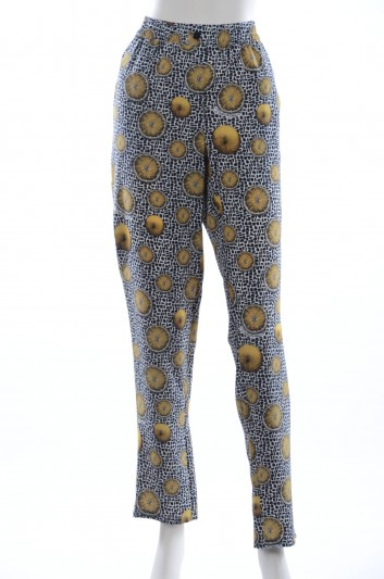 Dolce & Gabbana Women Silk Trousers - FTAPVT HS1SP