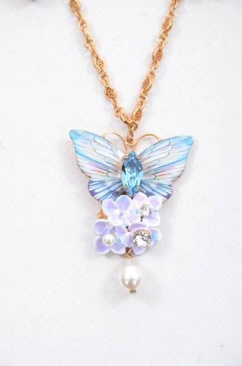 Dolce & Gabbana Women Butterfly Jewel Necklace - WNJ6F2 W1111