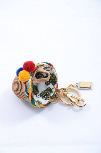 Dolce & Gabbana Llavero Cesto Placa Mujer - BI0717 B9485