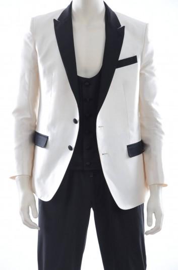 Dolce & Gabbana Americana Seda Hombre y Chaleco - G2FZ7T G9X61