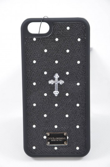 Dolce & Gabbana Funda Iphone 5/5S Placa Hombre - BP1919 AC301