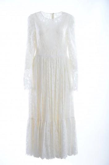 Dolce & Gabbana Women Lace Long Dress - F6QX3T FLM9V