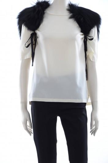 Dolce & Gabbana Women Fur Stole - FS148A FUPI1