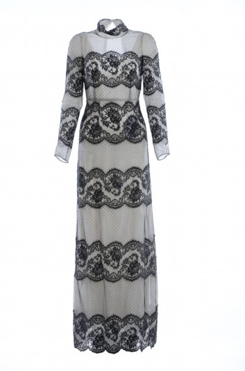 Dolce & Gabbana Women Lace Long Dress - F6SY6T FU1BU