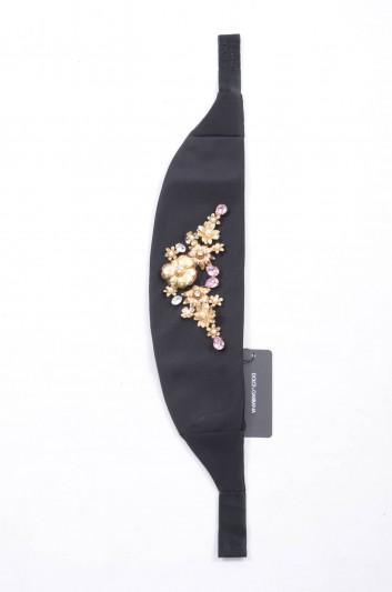 Dolce & Gabbana Women Jewel Silk Belt - IB058W GD61J