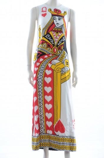 Dolce & Gabbana Vestido Seda Medio Mujer - F68R3T FPRSK