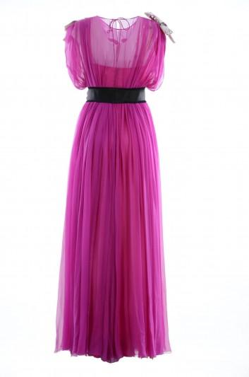 "Dolce & Gabbana Women Long Dress ""Queen Of Love"" - F67T8Z FU1AT"