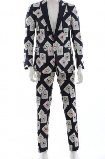 Dolce & Gabbana Men Suit Playing Cards - GK3VMT HS1SK