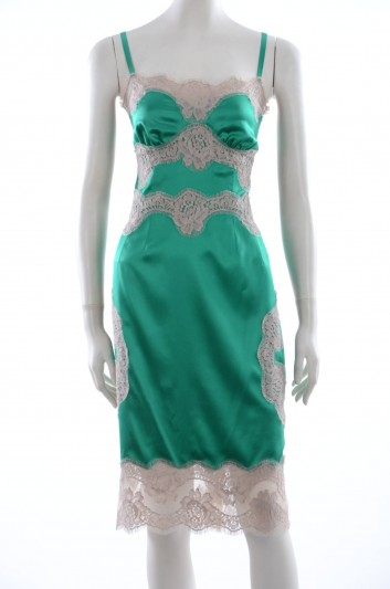 Dolce & Gabbana Camisón Seda Mujer - F6VY0T FURAG