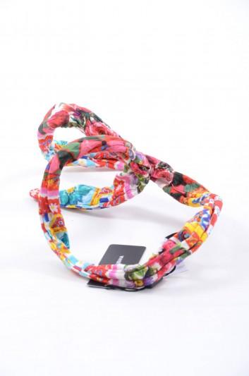 Dolce & Gabbana Women Silk Hairband - FB242A FSM2O