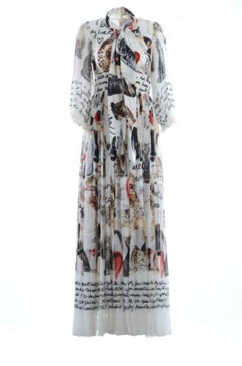 Dolce & Gabbana Women Silk Long Dress - F66R4T FH15J