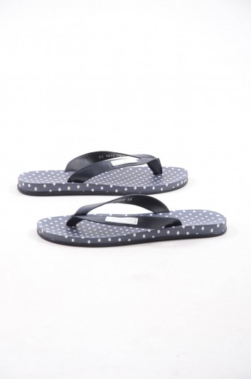 Dolce & Gabbana Men Leather Flip-Flops - CS1512 AG166
