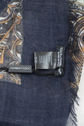 Dolce & Gabbana Men Cashmere Foulard - GQ239E G2SBH