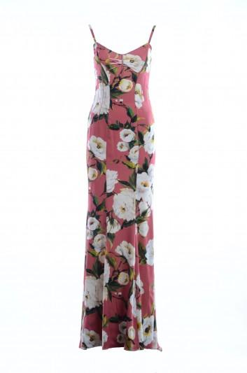 Dolce & Gabbana Vestido Largo Estampado Mujer - F61I2T FSAP9