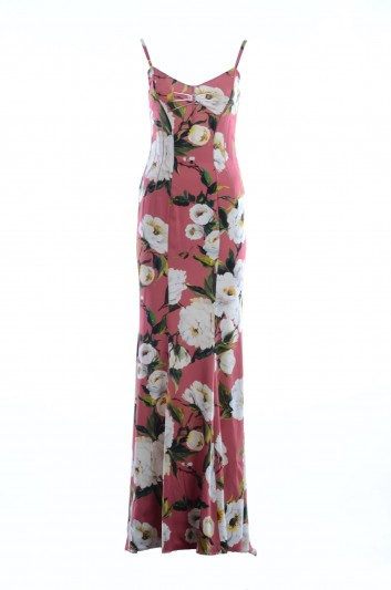 Dolce & Gabbana Women Print Long Dress - F61I2T FSAP9
