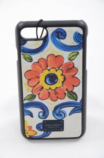 Dolce & Gabbana Funda iPhone 7 - 8 Maiolica Hombre - BP2235 AH525